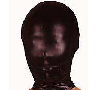 Недорогие -Маски Ниндзя Костюмы зентай Косплэй костюмы Черный Однотонный Маски Спандекс Универсальные Хэллоуин