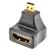 cheap -Micro HDMI Male to HDMI Female Adapter for Samsung Galaxy S3 I9300 and Others