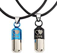 Недорогие -Бижутерия Ожерелья с подвесками Повседневные Сплав Мужчины Черный Свадебные подарки