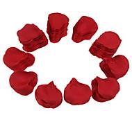 Недорогие -Свадьба красный шелк лепестков роз (1000-Pack)