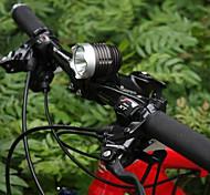 Stirnlampen / Radlichter / Fahrradlicht LED Cree Q5 Radsport Wasserdicht / Wiederaufladbar 18650 1200 Lumen BatterieCamping / Wandern /