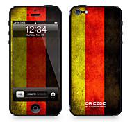 Недорогие -da code ™ для iphone 4 / 4s: «germany» (серия флагов) наклейки для iphone