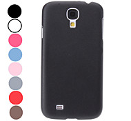 For Samsung Galaxy Case Frosted Case Back Cover Case Solid Color PC Samsung S4