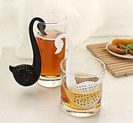 Недорогие -лебедь формы чайная ложка чай сетки (случайный цвет) шкаф хранения