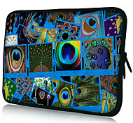 "Blue Patterns Nylon Material Waterproof Sleeve Case for 11""/13""/15"" Laptop&Tablet"