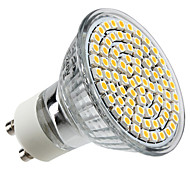 4W GU10 LED Spotlight MR16 80 leds SMD 3528 Warm White 2800lm 2800KK AC 220-240V
