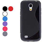 cheap -S Shape Soft Case for Samsung Galaxy S4 mini I9190  Galaxy S Series Cases / Covers