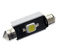 Фестон Автомобиль белый 2 Вт. Светодиоды для поверхностного монтажа 6000-6500 Лампа для чтения Дверная лампа Контроллерная сеть (Canbus)