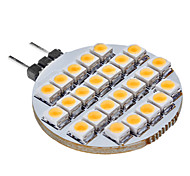 abordables -SENCART 3000lm G4 Luces LED de Doble Pin 25 Cuentas LED Blanco Cálido 12V