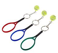 Tennis Set Style Keychain (Random Color)