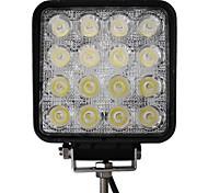 48W 16 LEDs Square Work Light