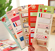 cheap -10 pcs Cartoon Animal Sticky Notes Set Decorative Memo Pad Post it Vintage Stationery Office Supplies School Supplies