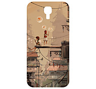 For Samsung Galaxy Case Pattern Case Back Cover Case Cartoon PC Samsung S4