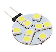 economico -100-150 lm G4 Faretti LED 9 leds SMD 5050 Luce fredda AC 12V