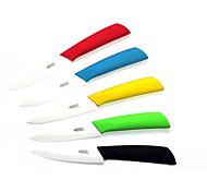 """Недорогие -4 """"фрукты растительное керамический нож (случайный цвет)"""