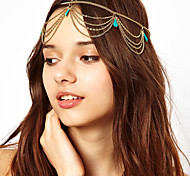 Bohemien Turqoise Tassels Headband