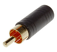 cheap -3.5mm Female to RCA Male Adapter