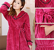 Fresh Style Bath Robe,Solid Superior Quality 100% Polyester Towel