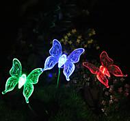 Недорогие -1pcs солнечный цвет изменяя цвет фонаря салата бабочки высокое качество
