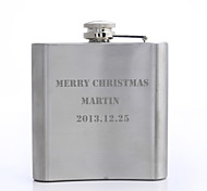 cheap -Personalized Father's Day Gift 5oz Metal Capital Letters Flask