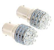 Недорогие -1156 BA15S (1156) Автомобиль Холодный белый 6000Лампа подсвета приборной доски Лампа освещения номерного знака Лампы сигнала поворота