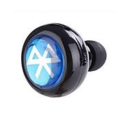 abordables -Dans l'oreille Sans Fil Ecouteurs Electrostatique Plastique Pro Audio Écouteur Mini Avec Microphone Casque