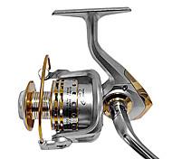Mulinelli da pesca Mulinelli per spinning 4.7:1 12 Cuscinetti a sfera Intercambiabile Mancino Mano destraPesca di mare Pesca a mulinello