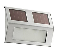 1 pcLED solar powered step light for outdoor using(CIS-57137A)