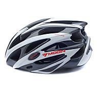 MOON Women's Men's Bike Helmet 25 Vents Cycling Mountain Cycling Road Cycling Cycling Medium: 55-59cm Large: 59-63cm PC EPS