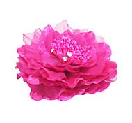 женский перьевой головной убор - случайные цветы классический женский стиль