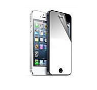 Зеркало Переплет Передняя и задняя экран протектор с Ткань для очистки для iPhone 5/5S