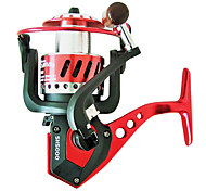 Spinning Reel / Fishing Reel 5.0:1(SH1000/2000), 4.9:1(SH3000/4000), 5.5:1(SH5000/6000) 9 Ball Bearings Spinning ReelsSea Fishing / Bait