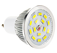 GU10 LED Spotlight 15 leds SMD 5730 Dimmable Warm White 100-550lm 2700-3500K AC 220-240V