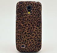 Mini Pattern Leopard Soft Case Back Cover TPU para Samsung Galaxy S4 Mini I9190