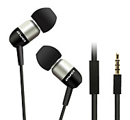 ESQ8i-awei Super Bass In-Ear Earphone with Mic and Remote for Mobilephone/PC/MP3