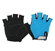 Недорогие -FJQXZ Спортивные перчатки Перчатки для велосипедистов Без пальцев Спандекс Хлопковые волокна Ластик Велосипедный спорт / Велоспорт Муж.