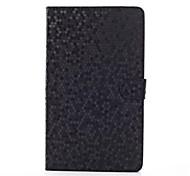 Diamant-Muster PU-Leder-Blick und Hard Back Cover Tasche für Samsung Tab 8.4 PRO T320 (verschiedene Farben
