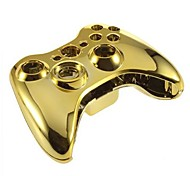 cheap -Replacement Housing Case for XBOX 360 Wireless Controller  (Golden)