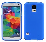 Smooth Sold Color Soft TPU Case for Samsung Galaxy S5 I9600