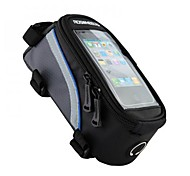 ROSWHEEL Bike Frame Bag Cell Phone Bag 4.2/5.5/6.2 inch Reflective Strip Waterproof Wearable Skidproof Touch Screen Phone/Iphone Cycling