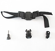 Front Mounting Straps Mount / Holder For Action Camera All Gopro Gopro 5 Bike/Cycling ABS Nylon