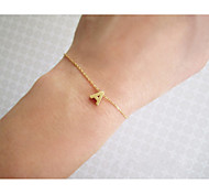 Women's Charm Bracelet Unique Design Friendship Fashion Simple Style Costume Jewelry Alloy Jewelry Jewelry For Party Daily Casual