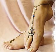 Недорогие -Жен. Ножной браслет / Браслеты Сплав Ножной браслет Украшения на ноги анкер Бижутерия Назначение Повседневные