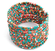 cheap -Women's Boho Chic Multi-row Beaded Bracelet(Assorted Colors) Jewelry Christmas Gifts