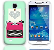 Printing Love Design Hard Case with 3-Pack Screen Protectors for Samsung Galaxy S4 mini I9190