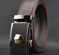 Men's Leisure Automatic Buckle Leather Belt
