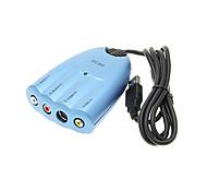 Easycap de alta calidad de video y captura de audio y edición de adaptador