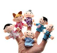 Недорогие -Семья Пальцевые куклы Марионетки Милый стиль Семейное взаимодействие Взаимодействие родителей и детей Милый Оригинальные Милый Плюш