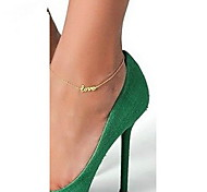 Anklet/Bracelet Others Unique Design Fashion Alloy Gold Silver Women's Jewelry 1pc