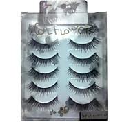 6 pairscoolflower false eyelashes 048# Cosmetic Beauty Care Makeup for Face